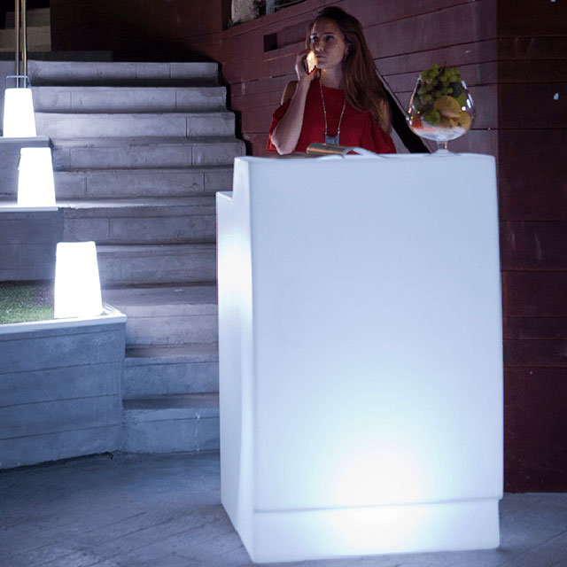 led bar counter product page LED Straight Bar Counters | Colorfuldeco