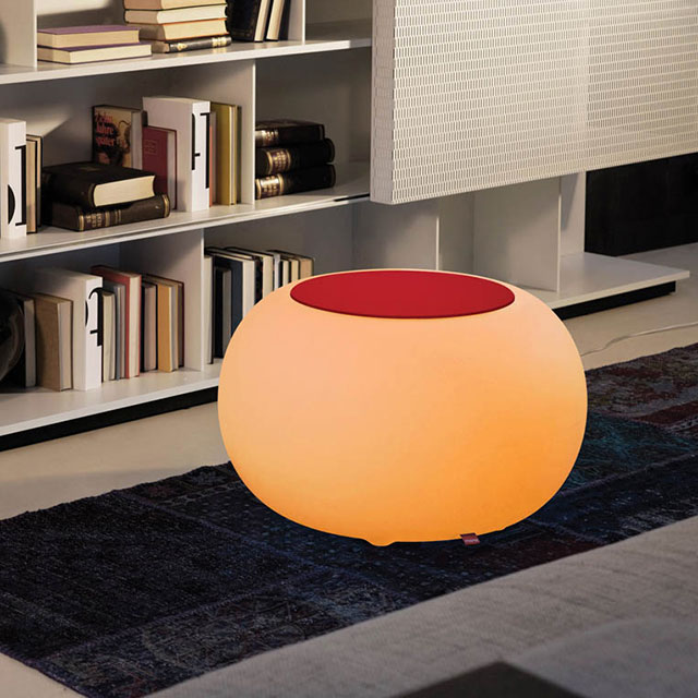 led tables product pageLED Drum Shape Tables   Colorfuldeco