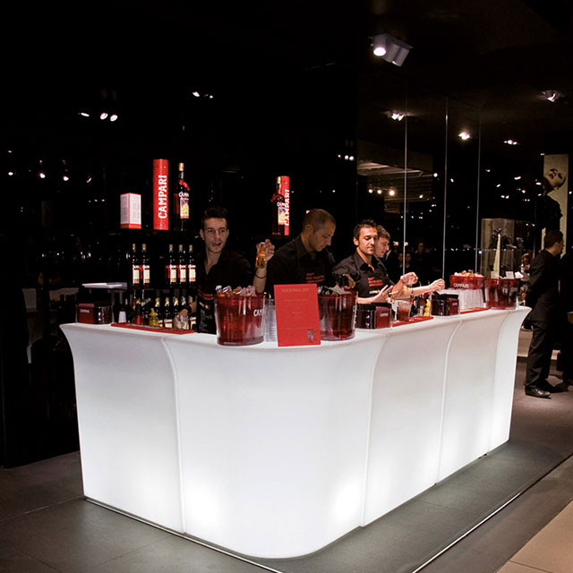 led bar counter product page LED Corner Bar Counters | Colorfuldeco
